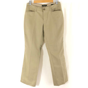 Eddie Bauer Womens Khaki Pants Blakely Fit Pockets